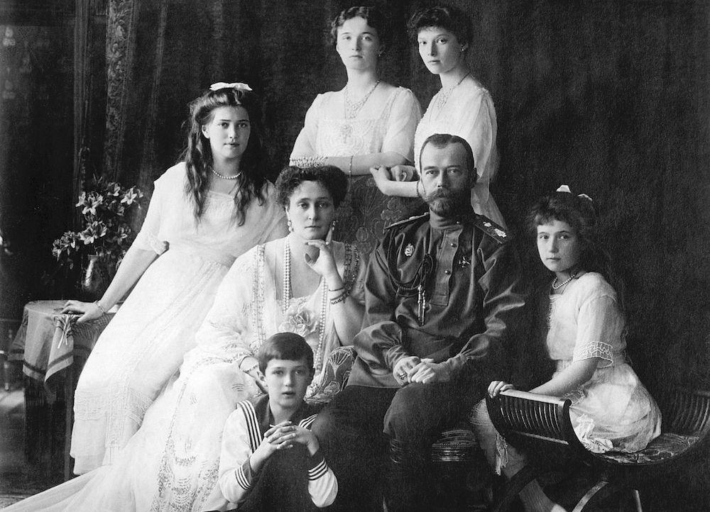 Romanov Family_Nicholas_II_of_Russia_ca._1914