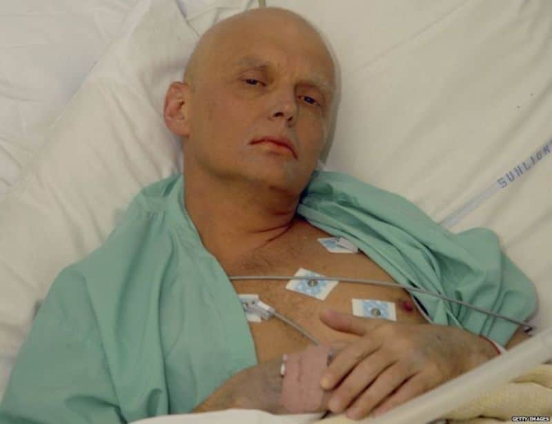 Alexander Litvinenko in hospital