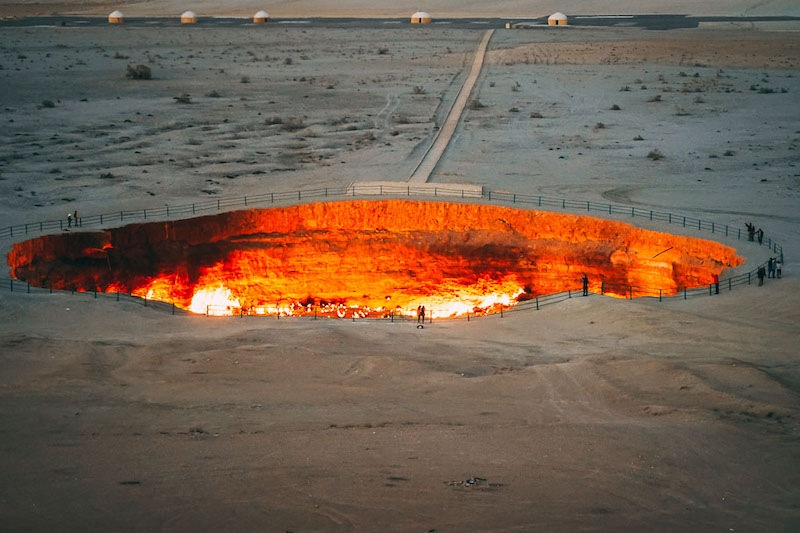 Turkmenistan_Darvaza Gas Crater