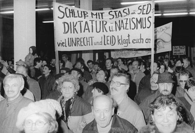 Stasi Protests