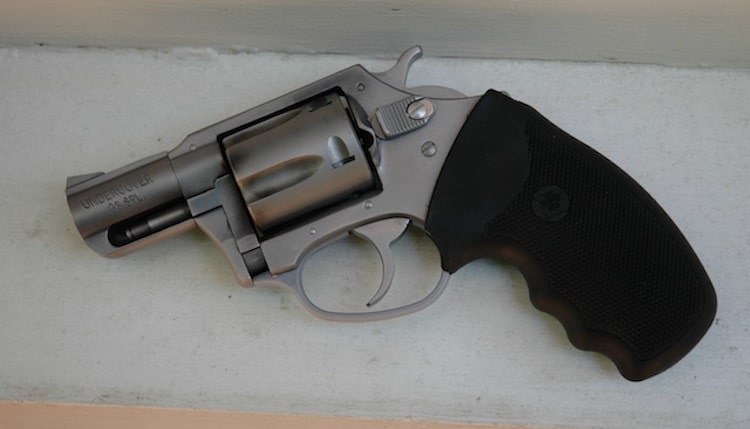 Charter Arms snub-nosed .38 Special