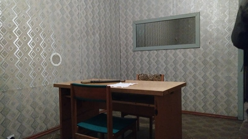 Interrogation Room KGB museum Riga