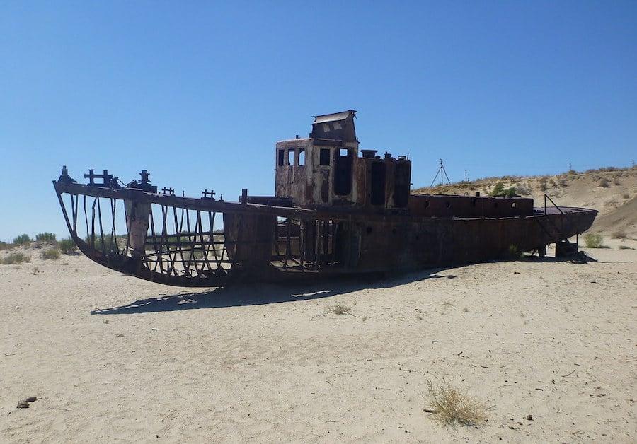 Moynaq Ship Graveyard Uzbekistan 2