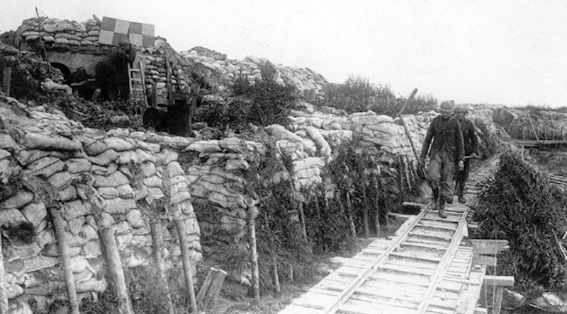 The Trench_of_Death near_the_Belgian_city_of_Dixmuide