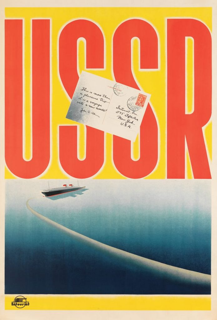 Vintage Tourism Posters from the Soviet Union