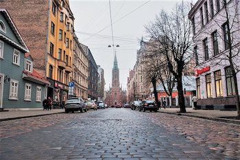 walking tour riga