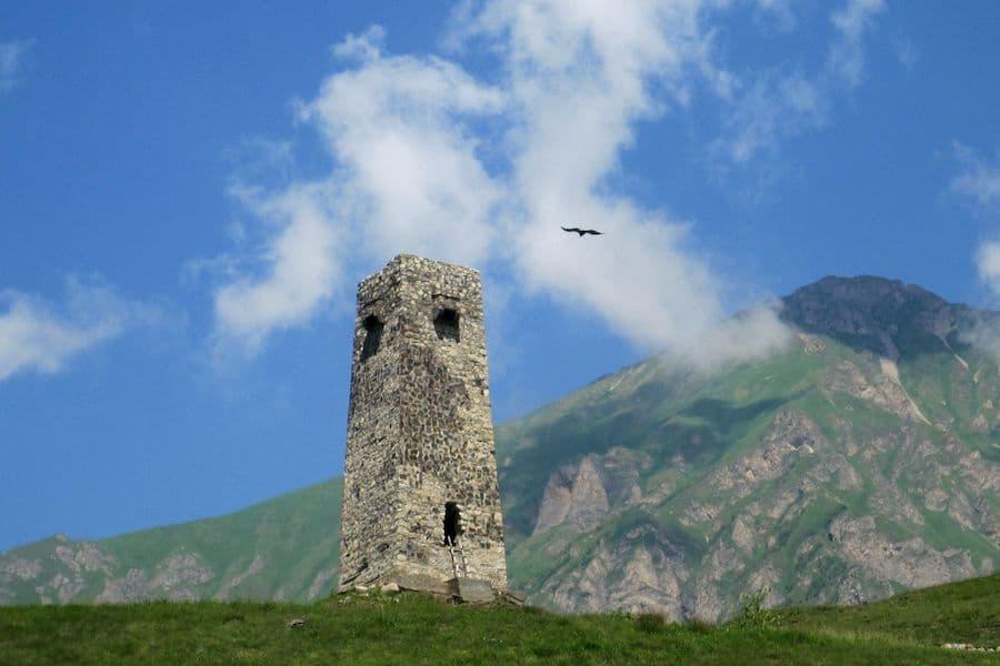 Dargavs_village.City_of_Dead.North_Ossetia Guard_Tower