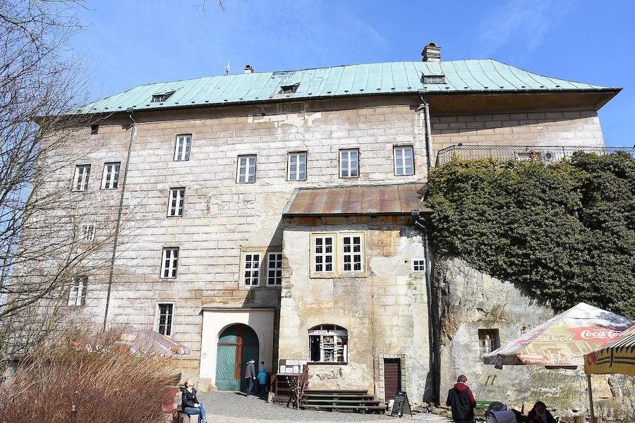 Houska Castle Building