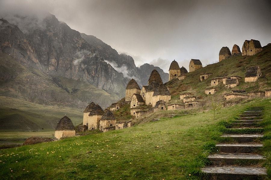 Dargavs Village - Inside the City of the Dead - Dark Tourists