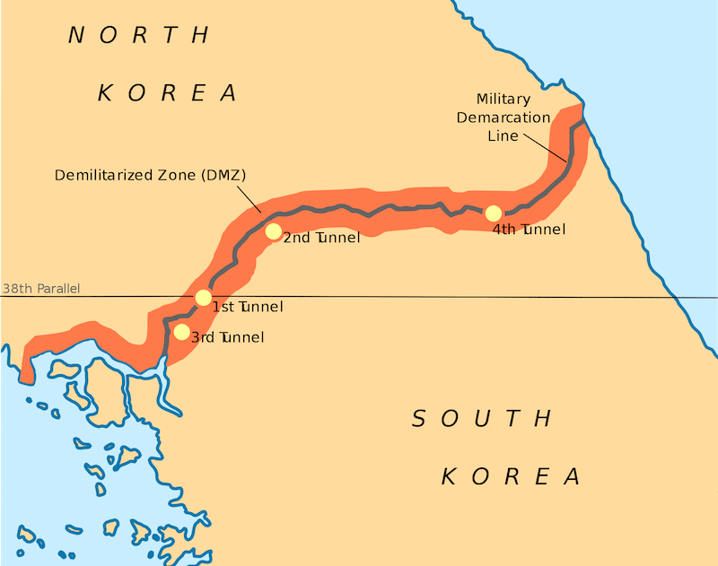 tunnels of aggression DMZ
