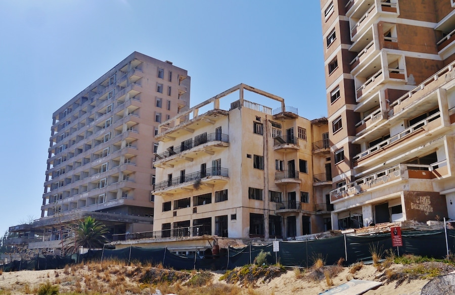 Famagusta Varosha Ghost Resort