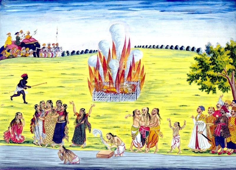 Sati Ceremony