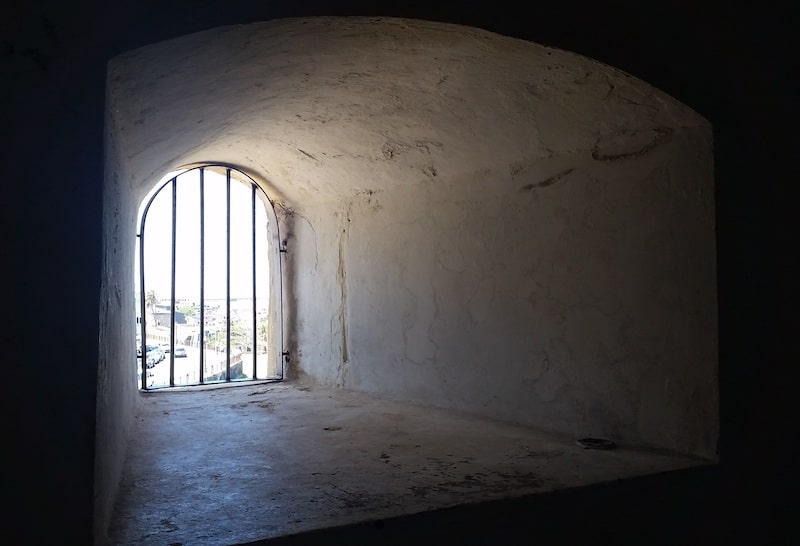 prison museum window