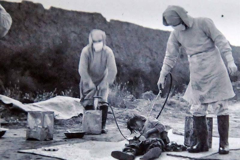 Unit 731 tests