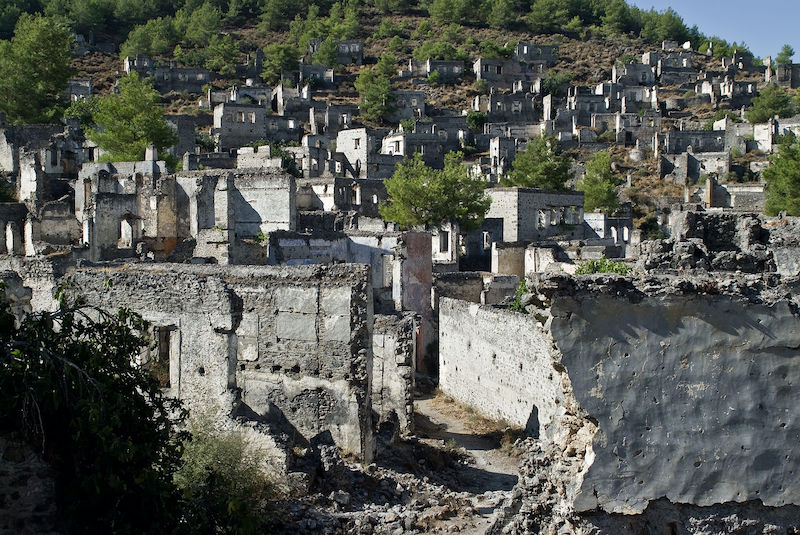 Ghost_town_Kayakoy dark tourism turkey