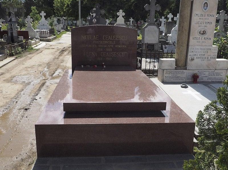 Nicolae and Elena Ceausescu