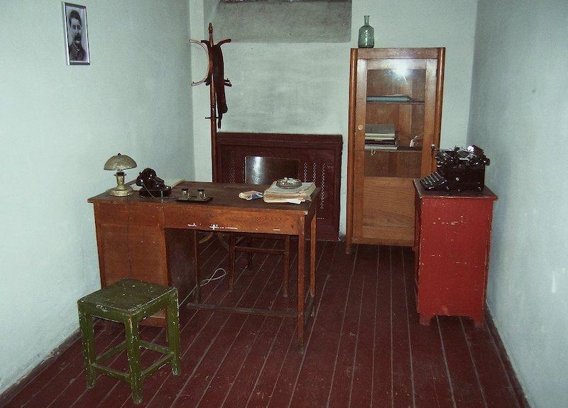 NKVD prison investigator office