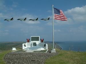 Mt Suribachi memorial Iwo Jima