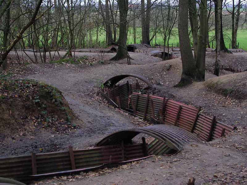 Ypres_Salient_sanctuary wood trenches and museum