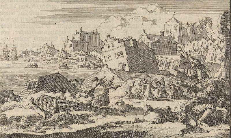 Port_Royal_earthquake_1692_by_Jan_Luyken_and_Pieter_van_der_Aa