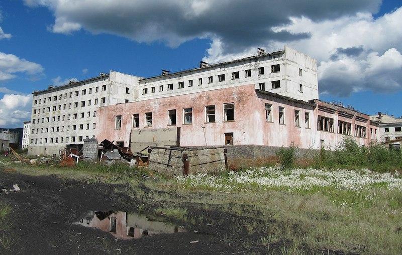 Kadykchan abandoned mining town