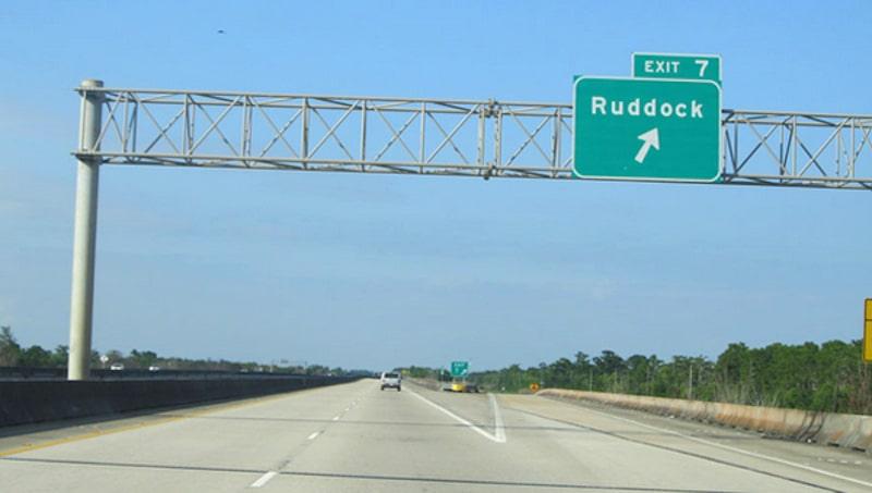 Ruddock destroyed by hurricane