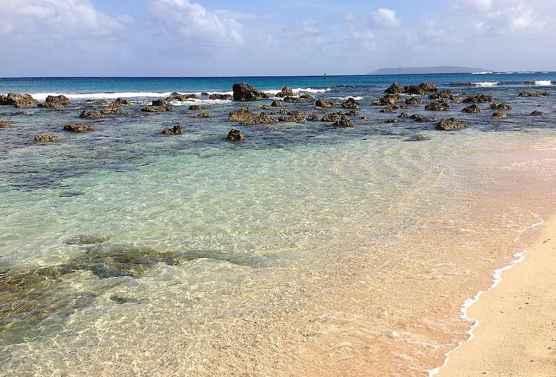 sapien tinian beach